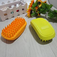 Ajuda para Treino / Limpeza Banhos Portátil Borracha Verde / Amarelo