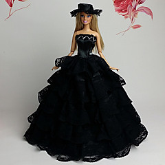 Movie & TV Theme Costumes Dresses For Barbie Doll Black Dresses