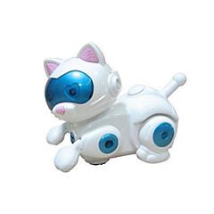 la magia del robot mascota electrónica luz modelo niños juguetes gato música