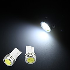 10 x T10 W5W 501 158 Car Side Wedge Bulb Lamp Bright Pure White LED Light 12V