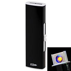 258 personnalité recto-verso charge USB u Arc briquets noir, bleu, rose rouge, de l'or