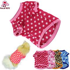 Gatos / Perros Abrigos / Camiseta Azul / Marrón / Rosado / Rosa Primavera/Otoño Lunares Boda / Cosplay / Vacaciones / Moda