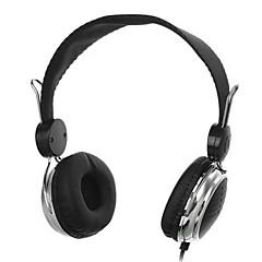 t148-3.5mm kääntyvät stereokuulokkeet kuulokkeet headset irrotettava johto ohjain PC iphone4 / 5