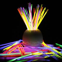 glowstick bricolage bracelet de la lumière lumineuse de 100 pcs