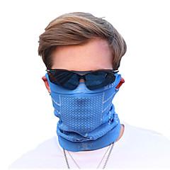 Bicicleta/Ciclismo Mascara Facial Hombres Sin Mangas Transpirable / A prueba de polvo Terileno Un Color Rojo / Azul Tamaño Único