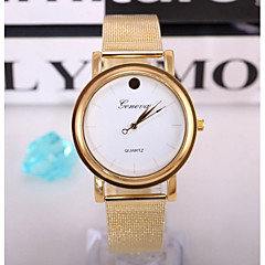 Women Gold Stainless Steel Watches Ladies Quartz Clock Fashion Women Wristwatch Relogio Feminino