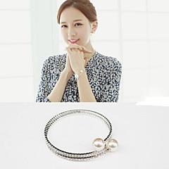 Fashion Jewelry Rhinestone Sweet Pearl Bracelet