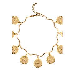 Miesten Naisten Pariskuntien Ranneketjut Gold Plated Kulta Korut Varten Häät Party Päivittäin Kausaliteetti Joululahjat 1kpl