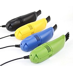 ZIQIAO USB Mini Vacuum Cleaner with Interchangeable Heads(Random colors)