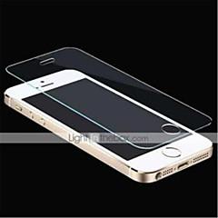 dsb® lyx 2.5D runt kanten 0,26 mm explosionssäkra härdat glas skärmen film skydd för iPhone 5 / 5s / 5c