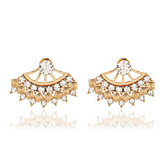 Earring Crystal / Imitation Diamond Drop Earrings Jewelry Women Wedding / Party / Daily / CasualCrystal / Alloy / Imitation Pearl / Agate