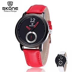 SKONE® 30M Waterproof Unisex Watch Soft PU Leather Band Wrist Watch Men's Business Quartz Watches Montre Homme