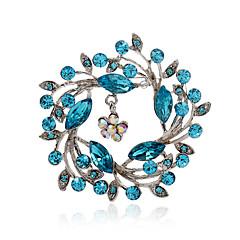 Damskie Kryształ górski sztuczna Diament Stop Modny Purple Różowy Navy Light Blue Biżuteria Impreza Codzienny Casual