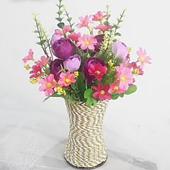 İpek / Plastik Papatyalar / Camellia Yapay Çiçekler