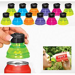 set van 6 creatieve soda spaarders toppers herbruikbare doppen kan omzetten