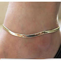 European Chain Alloy Anklet Daily / Casual 1pc