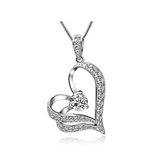 Jewelry Pendant Necklaces Wedding / Party / Daily / Casual Crystal / Alloy 1pc Women Wedding Gifts