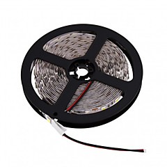z®zdm 5m conduit 300 * 5050 smd DC12V blanc chaud blanc / froid led lampe de bande 72W
