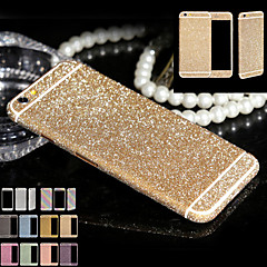 brilho de corpo inteiro para iphone6 ​​/ 6s plus caixa do telefone etiqueta brilhante espumantes decalques filme de diamante (cores