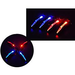 φώτα ασφαλείας LED - Ποδηλασία Αδιάβροχη / Εύκολη μεταφορά LR44 15 Lumens Μπαταρία Ποδηλασία