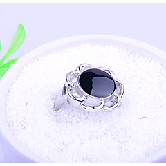 HUALUO®Woman fashion alloy ring fashion jewelry Ms. exquisite diamond flower ring