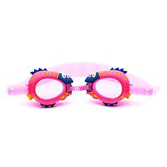 Goggles Πισίνα Κατά της ομίχλης Αδιάβροχη Πυριτικής Πηκτής PC Κόκκινο Ροζ Μπλε Σκούρο μπλε Κόκκινο Ροζ Μπλε Σκούρο μπλε