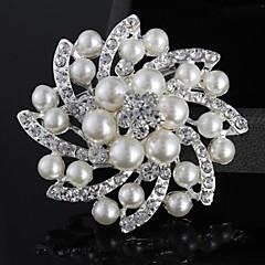 Női Gyöngy Gyöngyutánzat Ezüstözött utánzat Diamond Ötvözet Divat Ékszerek Esküvő Parti Hétköznapi