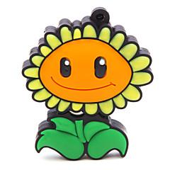 u sopa zpk47 16GB çiçek ayçiçeği usb 2.0 flash bellek sürücüsü