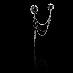Ανδρικά Πετράδι Κράμα Μοντέρνα Ασημί Κοσμήματα Γάμου Πάρτι Καθημερινά Causal