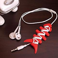 Fejhallgató tartó / Kábelcsévélő Hordozható mert Tárolási készlet