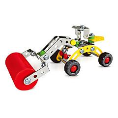 직소 퍼즐 3D퍼즐 / 플레이 차량 빌딩 블록 DIY 장난감 차 76pcs 메탈 화이트 / 핑크 모델 & 조립 장난감