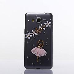 dans mønster TPU blød taske til flere Samsung Galaxy S3 / S4 / S5 / S6 / s6edge / s6edge + / s7 / s7edge