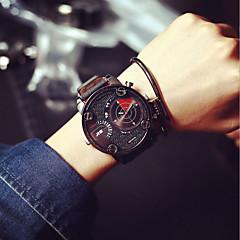 Men JIS watch Quartz Waterproof Sports Watch Calendar Genuine Leather Wristwatch montre reloj relogio Cool Watches Unique Watches