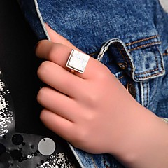 Crystal / Alloy Ring Band Rings Party / Daily / Casual 1pc