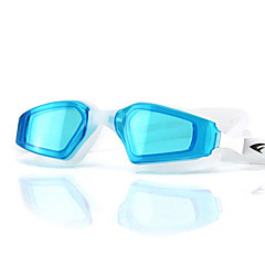 FEIUPE Swimming Goggles Women's / Men's / Unisex Anti-Fog / Waterproof / Adjustable Size / Anti-UV Silica Gel PCBlack / Blue / Light Blue