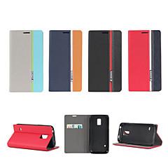 Na Samsung Galaxy Etui Z podpórką / Flip Kılıf Futerał Kılıf Linie / fale Skóra PU Samsung S5 Mini / S5 / S4 Mini / S4 / S3 Mini / S3