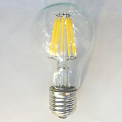 1 stuks kwbled E26/E27 10W / 12W 12 COB 1050 lm Warm wit / Natuurlijk wit A60(A19) edison Vintage LED-gloeilampen AC 220-240 V
