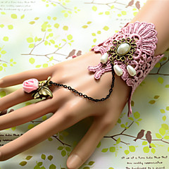 Vintage Style Manual Pear Lace Bracelet