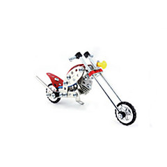Jigsaw Puzzles 3D Puzzles / Metal Puzzles Building Blocks DIY Toys Motorcycle Metal Red / Silver Model & Building Toy