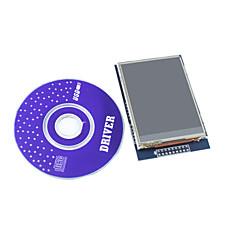 """2.8 """"tft lcd module d'affichage tactile de bouclier avec cd pour Arduino"""