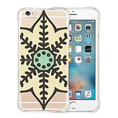 capitale della mandala fondello silicone trasparente morbida per iPhone 6 / 6s (colori assortiti)