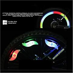 Pyöräilyvalot,pyörän valot / turvavalot-3 Tila Other Lumenia Värit muuttuvat nappiparistoxButton battery*1 Akku Pyöräily/Pyörä Valkoinen