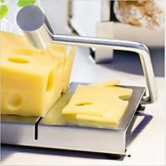 새로운 치즈 슬라이서 커터 보드 스테인레스 스틸 와이어 절단 부엌 손 도구