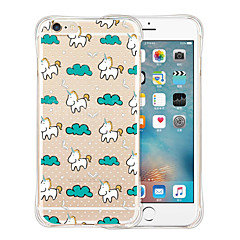 Unicorn's Dream Tour Soft Transparent Silicone Back Case for iPhone 6/6S (Assorted Colors)