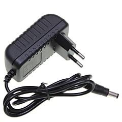 eu plug 12v 1a 5,5 x 2,1 mm LED strip licht / cctv security camera-monitor voedingsadapter dc2.1 AC100-240V