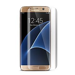 cahpéu-príncipe hd tela clara protector de filme protetor de tela cheia para Samsung Galaxy S7 edge / g9350