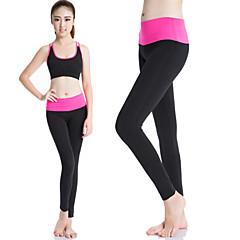 Women Yoga Sports Pants Heigh Elastic Wicking Tights Female Sports Elastic Fitness Running Long Pants