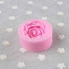 jeden otvor květina silikonová forma fondán formy cukr řemeslnické nářadí pryskyřičné květiny forma na koláče