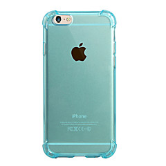 Para Traslúcido Funda Cubierta Trasera Funda Un Color Suave TPU para AppleiPhone 7 Plus iPhone 7 iPhone 6s Plus/6 Plus iPhone 6s/6 iPhone