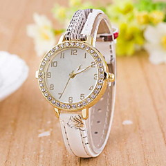 Women's Fashion Rural Style Quartz Wrist Watch Leather Band Cool Watches Unique Watches